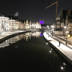 Winter in Gent