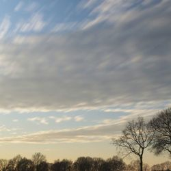 Drukke wolken