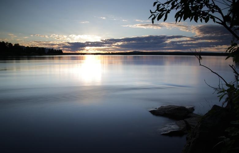 Zonsondergang Rovaniemi