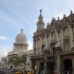 Capitolio en Gran Teatro de La Habana