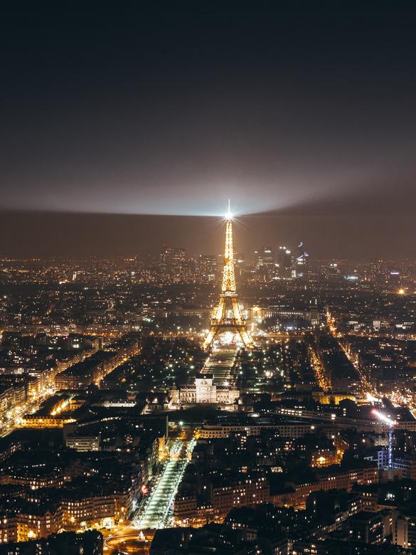 Parijs in de nacht