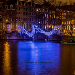 Light Festival Amsterdam Lightbridge