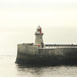 Along the British coast