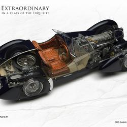 Bugatti Corsaire Cutaway