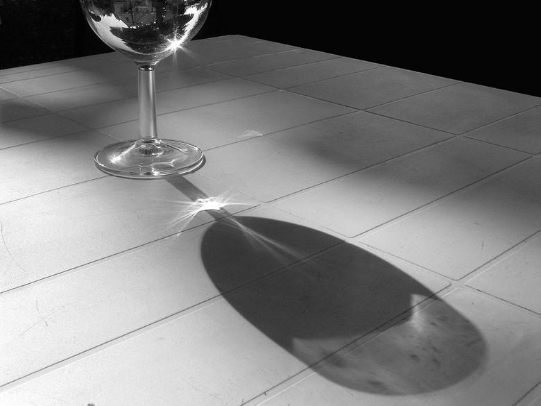 Glas en schaduw