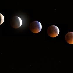 Serie van de maan