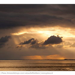 Sunset @ Wadden Sea