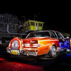 Lowrider: Buick Regal uit 1985 achterkant
