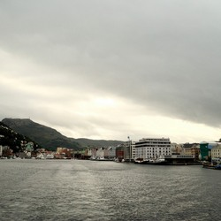 It's dark above Bergen.