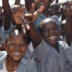 School kinderen Kisumu