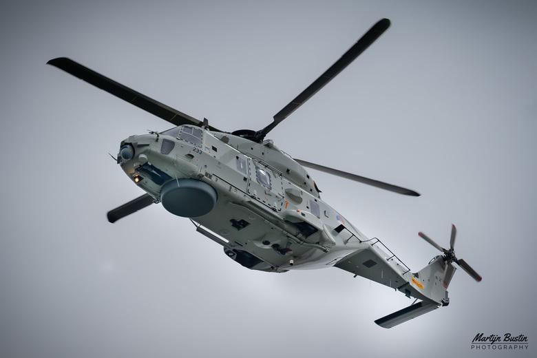 NH90 Koninklijke Marine  - Tijdens de LIVEX oefening in Hoek van Holland was ook de NH90 van de Koninklijke Marine aanwezig om slachtoffers van de fer