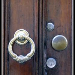Oude deur in Schiedam