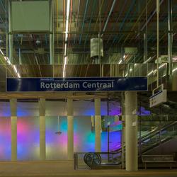 Metrostation Rotterdam CS