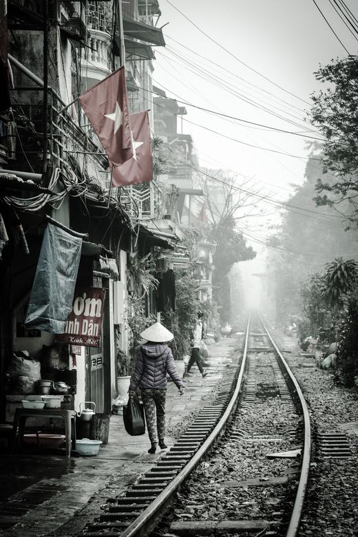 Spoorlijn in Azie -