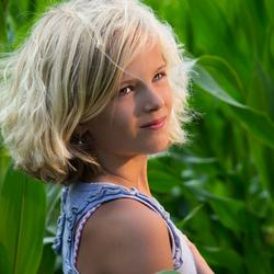 Girl of the corn