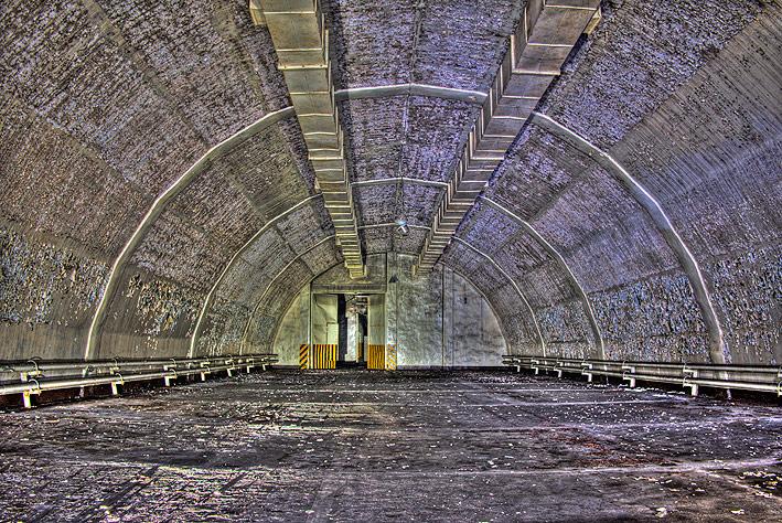 Neuthymen_007 - Hier zien we de bunker waar de kernwapens in lagen.<br /> Neuthymen was de plaats voor SS-3 &quot;Shyster&quot;(R-5M) raketten <br />