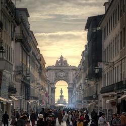 The gate of Lisbon