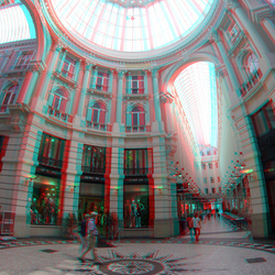Passage Den Haag 3D GoPro 200mm