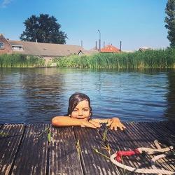 Spontane zwemsessie