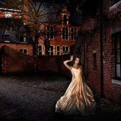 de dode dame in trouwjurk