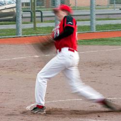 Softbal pitch