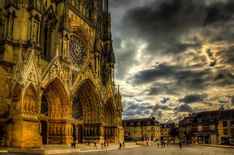 Notre-Dame - Notre dame in Reims, Frankrijk