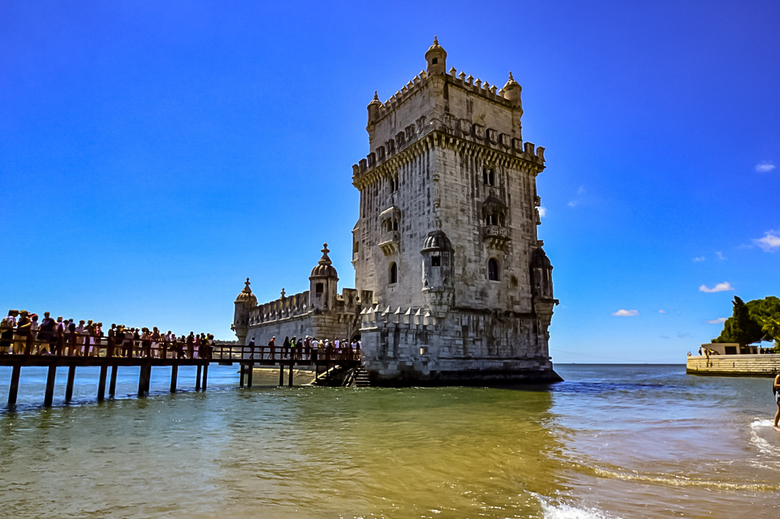 Torre van Belém. Portugal