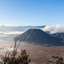 backside view of Mount Bromo