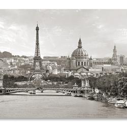 Panorama Parijs in een notendop