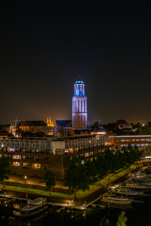 Zwolle by night -