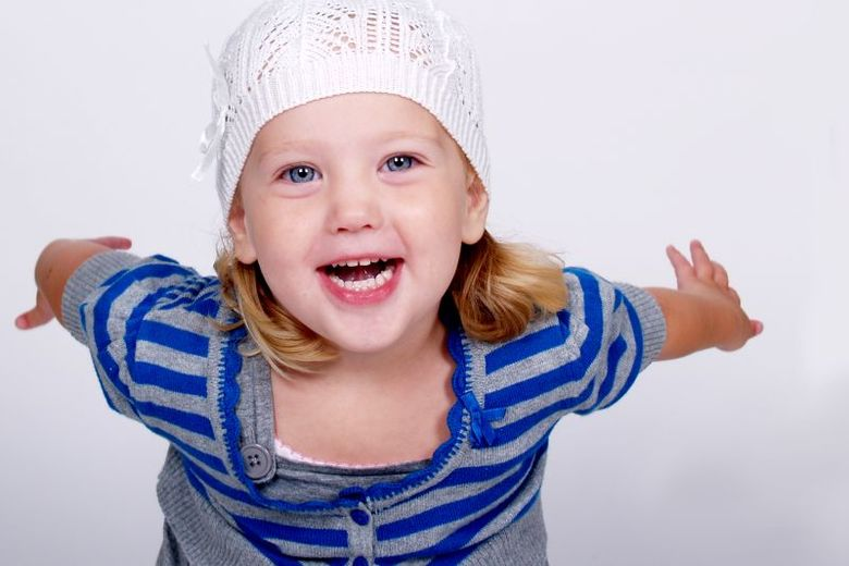 Hey there! - Mijn dochter kwam los voor de camera, dit is het resultaat.<br /> <br /> Tips zijn welkom!