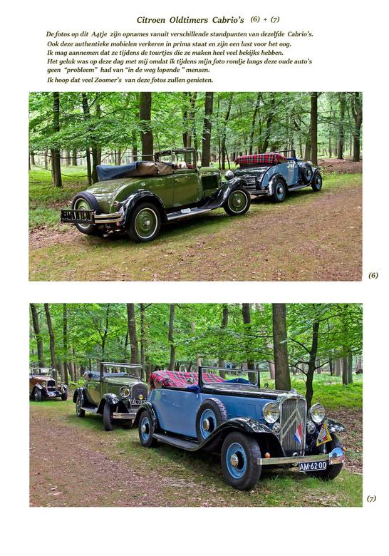 Duo foto Citroen Oldtimers Cabrio's (6 + 7)