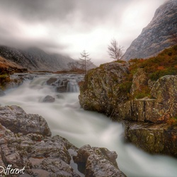 River Coe, Schotland