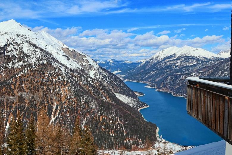 Alpen - Zicht vanaf berghut
