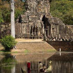 trouwceremonie Angkor Thom