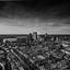 Den Haag in zwart/wit