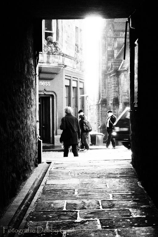 Streets of Edinburgh  - straatfotografie