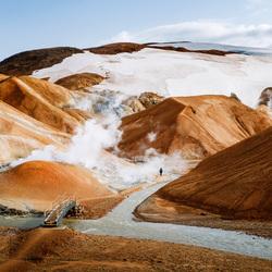 Kerlingarfjöll - Hooglanden in IJsland