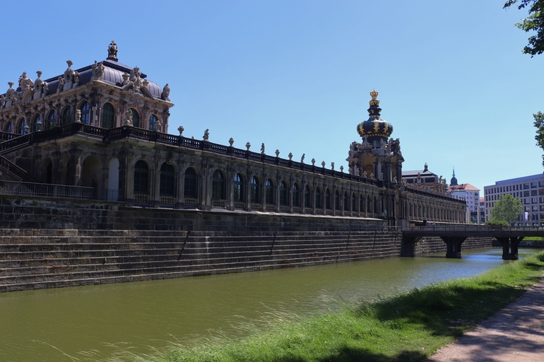 Zwinger - Zwinger paleis, tegenwoordig een museum, Dresden, Duitsland