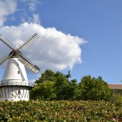 de molen van Sonderborg, Denemarken