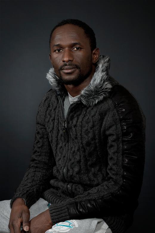 Gevlucht - Een studioportret van een vluchteling