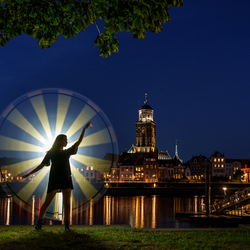 Deventer lightpainting