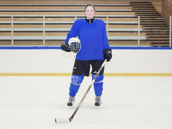 Icelandic Hockey Team - Uit pure interesse ging ik een kijkje nemen bij het vrouwelijke hockey team van Ijsland.