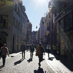 Een straat in Maastricht