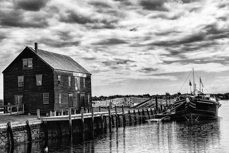 Old Harbor of Salem -