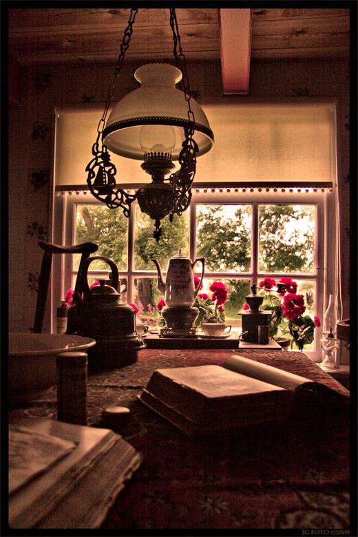 Oude woonkamer   Bewerkte fotografie foto van jg-foto   Zoom.nl
