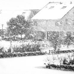 Een winterse dag in Leeuwarden
