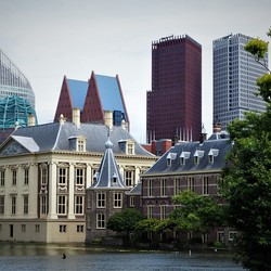 skyline Den Haag...