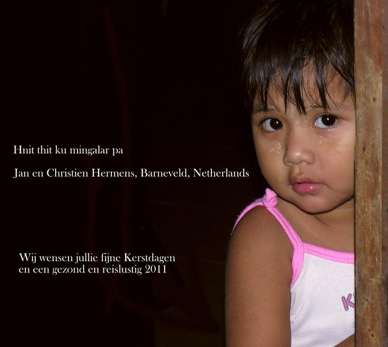 Kerstwens - Met een opname uit Birma wensen we iedereen fijne feestdagen!