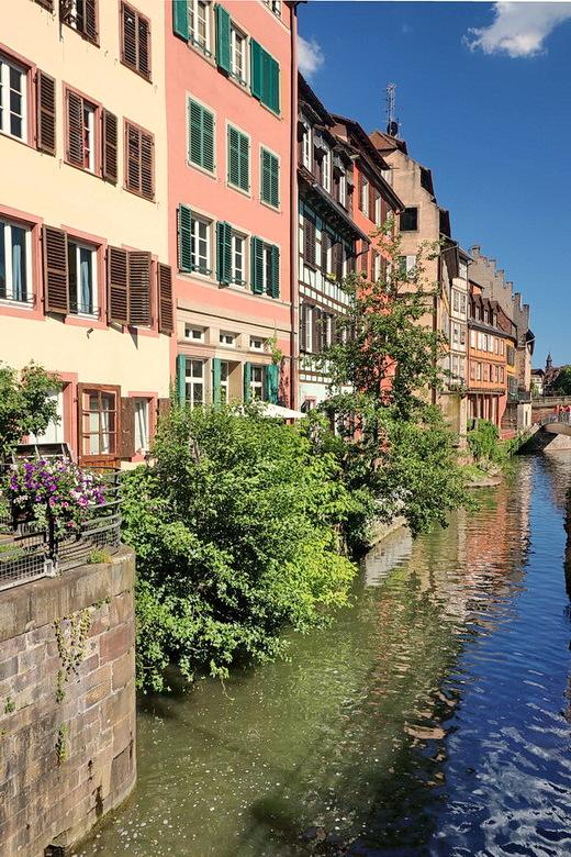 Strasbourg. - Oude binnen stad van Strasbourg Frankrijk.<br /> <br /> 13 juni 2019.<br /> Groetjes Bob.
